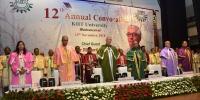 12th Annual Convocation of KIIT University Directors, Deans and Faculty members take part among others in the convocation procession led by Dr. Sasmita Samanta, Registrar, KIIT(L to R) Prof. S. Samanta, Registrar KIITU, Dr. S. K. Acharya, Pro-Chancellor, KIITU, Professor Sir Richard John Roberts, Nobel Laureate in Physiology or Medicine (1993), U.K., Prof. N. L. Mitra, Chancellor, KIITU, Dr. Habil Khorakiwala, Chairman, Wockhardt Group & Prof. P. P. Mathur, VC, KIITU at the 12th Annual Convocation of KIITU.Professor Sir Richard John Roberts, Nobel Laureate in Physiology or Medicine (1993), U.K. being felicitated by Prof. N. L. Mitra, Chancellor, KIITU.Professor Sir Richard John Roberts, Nobel Laureate in Physiology or Medicine (1993), U.K. receiving the Degree of D.Sc. (Honoris Causa) at the 12th Annual Convocation of KIIT University from Prof. N. L. Mitra, Chancellor, KIITU & Prof. P. P. Mathur, VC, KIITU.Professor Sir Richard John Roberts, Nobel Laureate in Physiology or Medicine (1993), U.K. receiving the Degree of D.Sc. (Honoris Causa) at the 12th Annual Convocation of KIIT University from Prof. N. L. Mitra, Chancellor, KIITU & Prof. P. P. Mathur, VC, KIITU.Dr. Habil Khorakiwala, Chairman, Wockhardt Group receiving the Degree of D.Litt. (Honoris Causa) from Prof. N. L. Mitra, Chancellor, KIITU & Prof. P. P. Mathur, VC, KIITU.Dr. Habil Khorakiwala, Chairman, Wockhardt Group receiving the Degree of D.Litt. (Honoris Causa) from Prof. N. L. Mitra, Chancellor, KIITU & Prof. P. P. Mathur, VC, KIITU.Professor Sir Richard John Roberts, Nobel Laureate in Physiology or Medicine (1993), U.K. speaking on the occasion.Dr. Habil Khorakiwala, Chairman, Wockhardt Group speaking on the occasion.Audience Snapshot12345678910 Professor Sir Richard John Roberts, Nobel Laureate in Physiology or Medicine (1993), U.K. speaking on the occas
