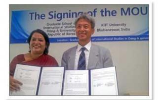 MoU with 9 International Universities