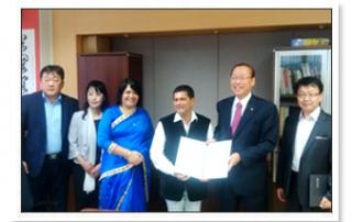 MoU with Dongguk University, Seoul