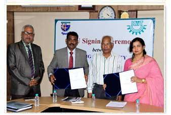 MoU with Jigjiga University. 3rd August 2017 MoU Signing Ceremony between Jigjiga University & KIITU in progress.