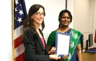Dr. Sanghamitra Patnaik Represents India at SUSI 2013, USA