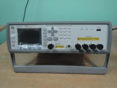 E4980A precision LCR meter at KIIT