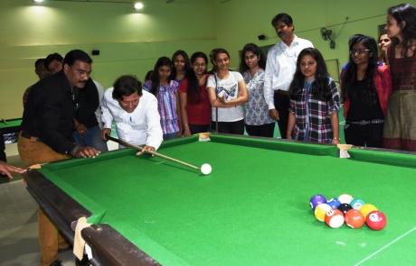 Billiards at KIIT