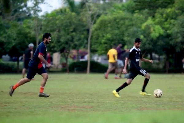 KIIT Sports Student Playing